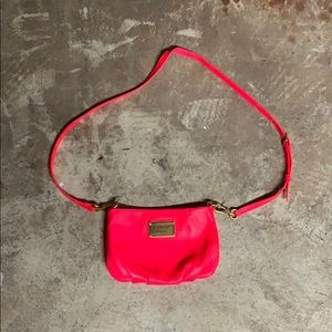 Marc Jacobs Neon Orange Purse
